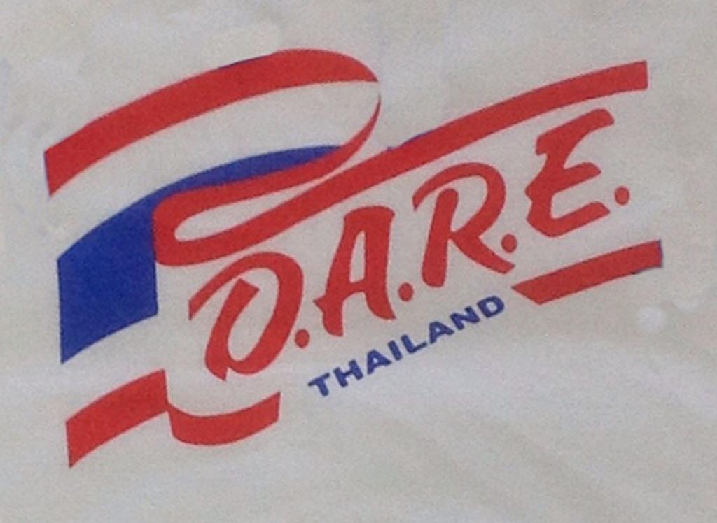 ตัวอย่างงานสกรีน D.A.R.E. THAILAND แดร์