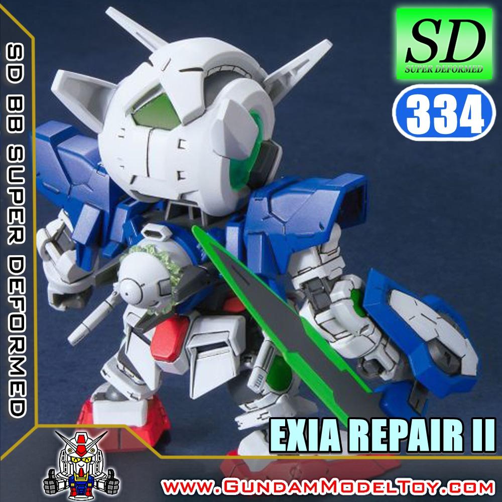 SD BB334 GUNDAM EXIA REPAIR II กันดั้ม เอ็กซ์เซีย รีแพร์ II