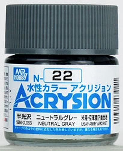 ACRYSION N22 SEMI-GLOSS NEUTRAL GRAY สีเทากึ่งเงากึ่งด้าน