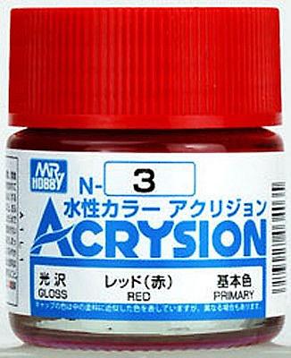 ACRYSION N3 GLOSS RED สีแดงเงา