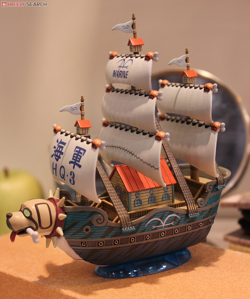 GRAND SHIP COLLECTION GARP'S WARSHIP