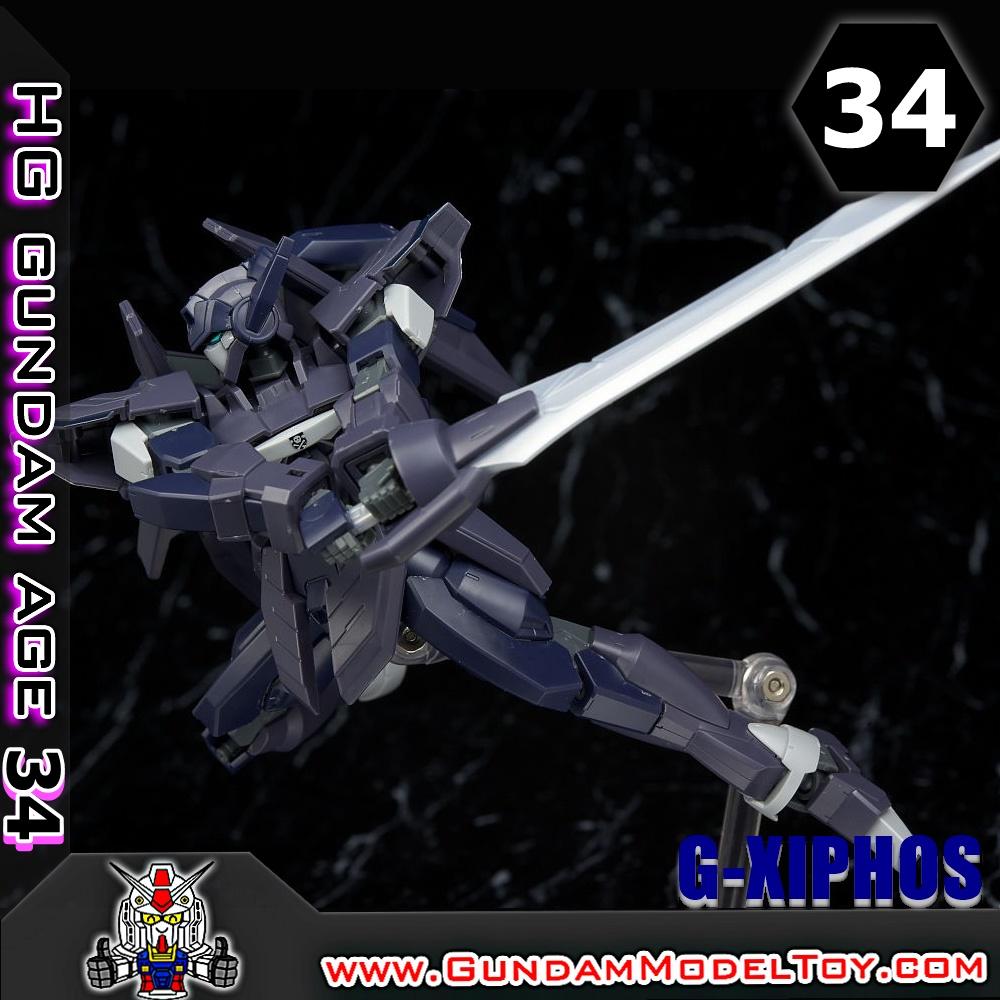 HGAGE 1/144 G-XIPHOS จี ไซฟอส