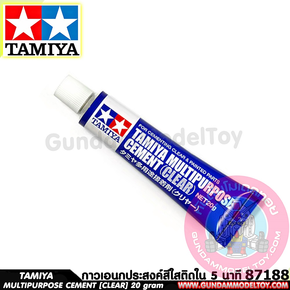 TAMIYA MULTIPURPOSE CEMENT [CLEAR]