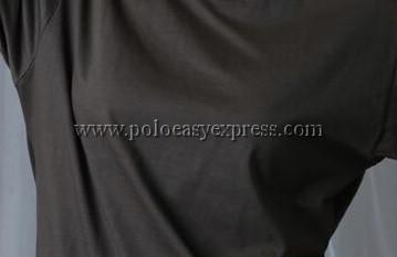 เสื้อยืดเด็ก สีเทาเข้ม คอกลม แขนสั้น Size S