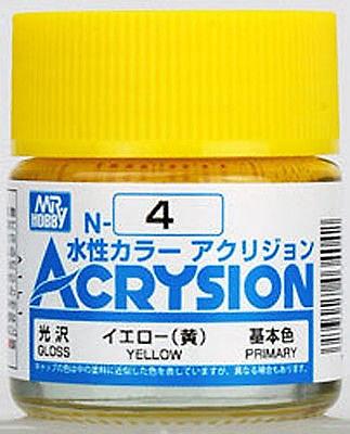 ACRYSION N4 GLOSS YELLOW สีเหลืองเงา