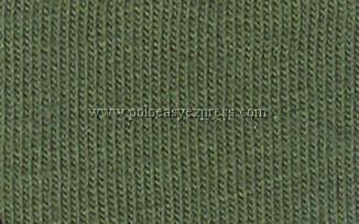 เสื้อยืดเด็ก สีเขียวขี้ม้า คอวี แขนสั้น Size 2XL