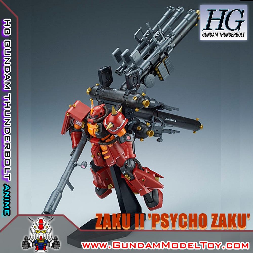 HGTB 1/144 HIGH MOBILITY TYPE ZAKU II 'PSYCHIO ZAKU' [GUNDAM THUNDERBOLT ANIME VER.] ซาคุ 2 'ไซโค ซาคุ'