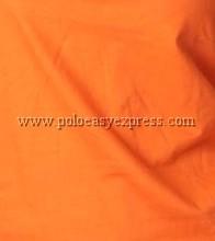 เสื้อยืดเด็ก สีส้ม คอวี แขนสั้น Size M