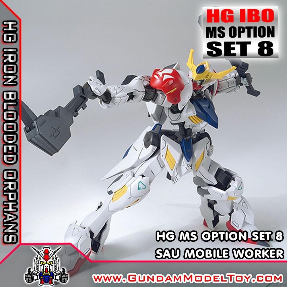 HG 1/144 MS OPTION SET 8 & SAU MOBILE WORKER