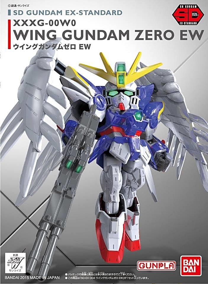 SD GUNDAM EX-STANDARD 004 WING GUNDAM ZERO EW