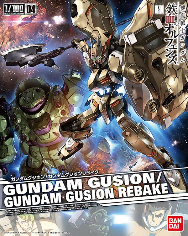 1/100 04 GUNDAM GUSION/GUNDAM GUSION REBAKE