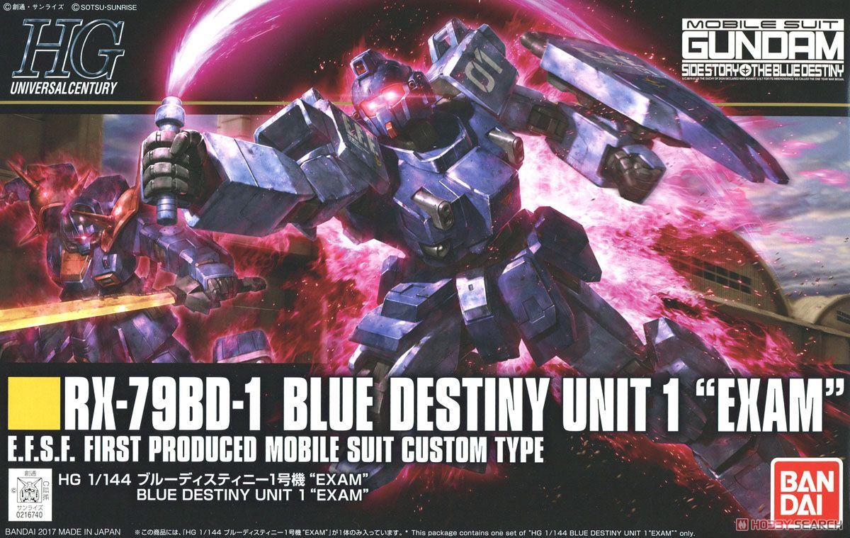HG 1/144 BLUE DESTINY UNIT 1