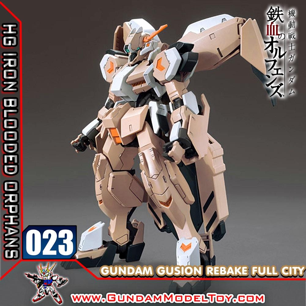 HG 1/144 023 GUNDAM GUSION REBAKE FULL CITY กันดั้ม กูชิออน รีเบค ฟูล ซิตี้