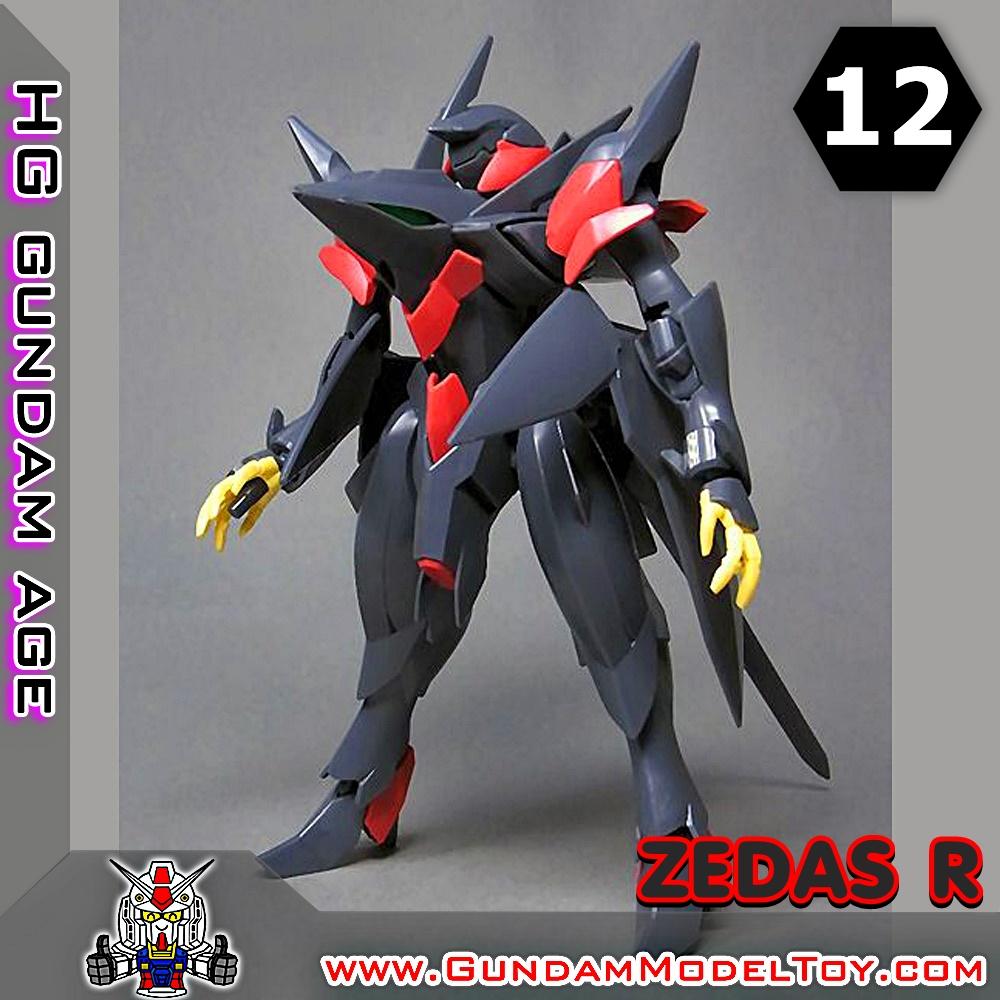 HGAGE 1/144 ZEDAS R เซดาส อาร์