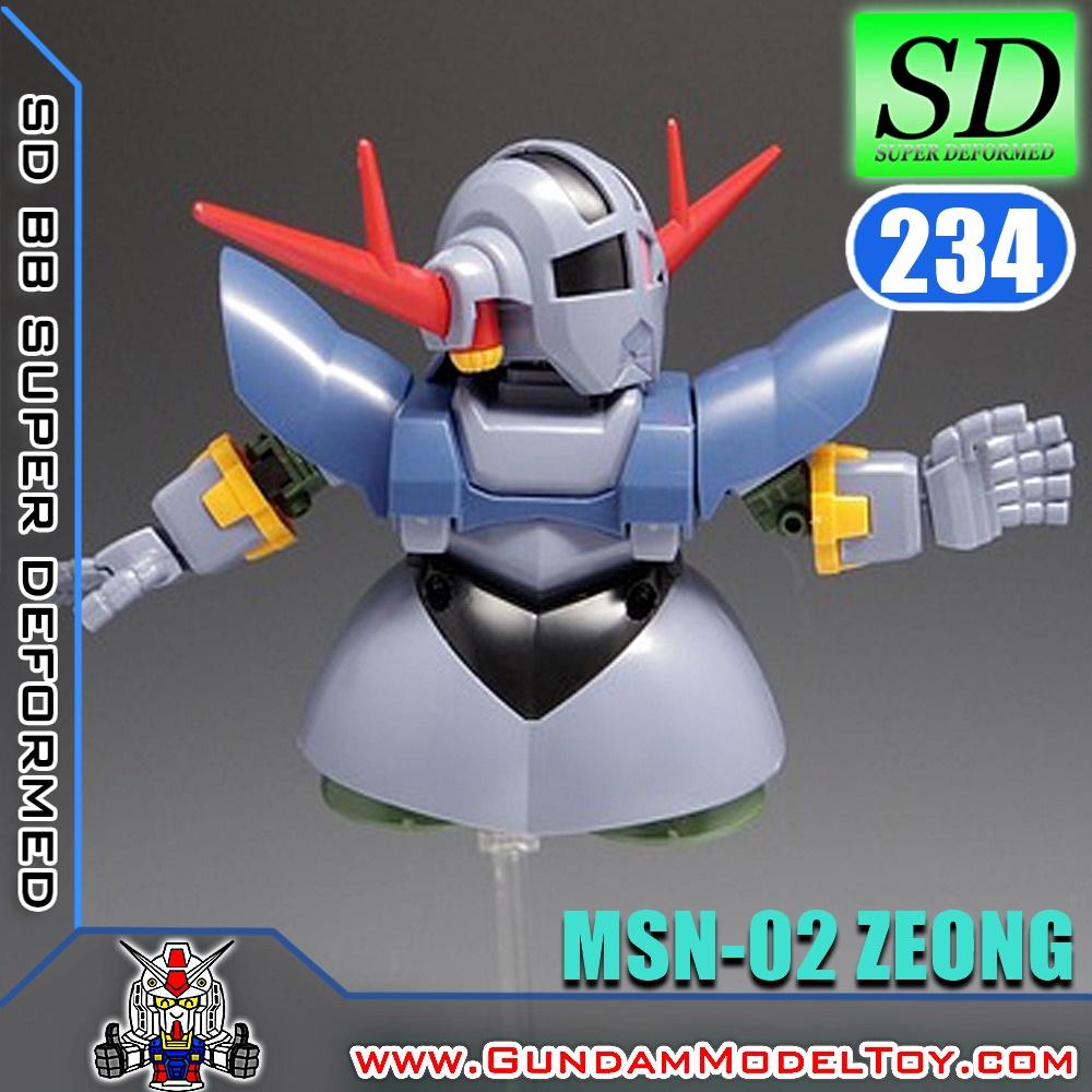 SD BB232 MSN-02 ZEONG ซีออง