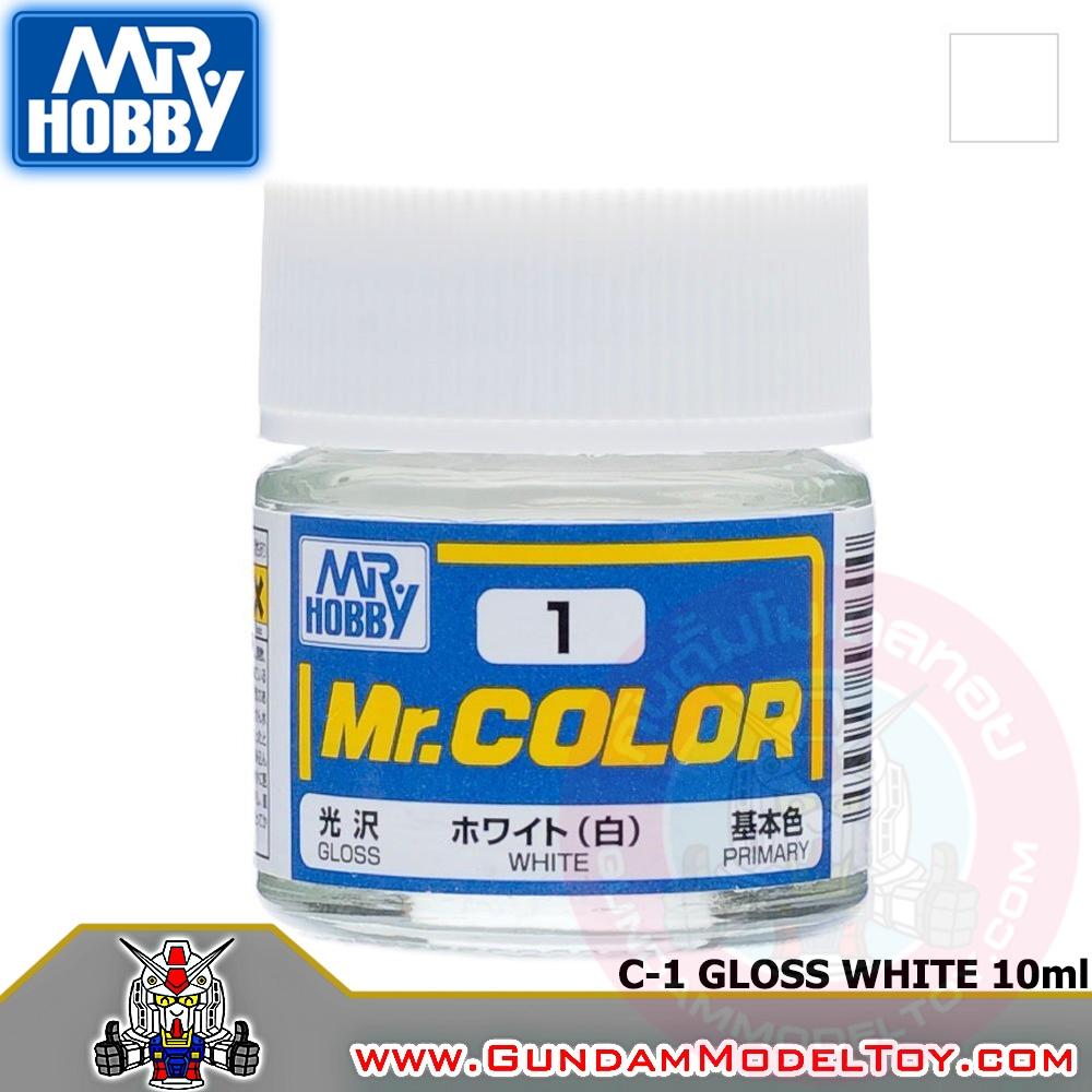 MR.COLOR C-1 GLOSS WHITE สีขาวเงา