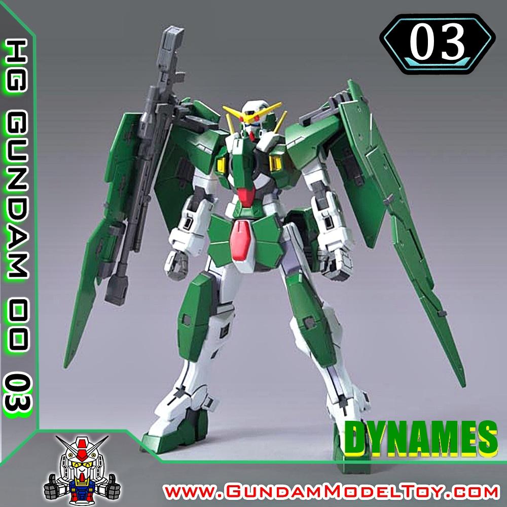 HG 1/144 GUNDAM DYNAMES กันดั้ม ไดนาเมส