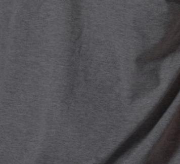เสื้อยืด สีดำท็อปดาย คอวี แขนยาว Size XL