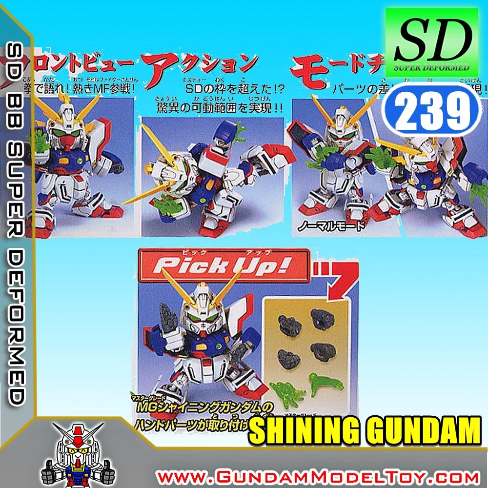 SD BB239 SHINING GUNDAM