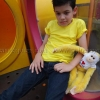 เสื้อยืดเด็ก สีเหลือง คอกลม แขนสั้น Size XL