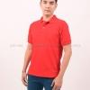 เสื้อโปโล สีแดง TK Premium แขนสั้น ทรงตรง Size L