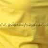 เสื้อยืดเด็ก สีเหลือง คอวี แขนสั้น Size L
