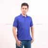 เสื้อโปโล สีน้ำเงิน TK Premium แขนสั้น ทรงตรง Size L