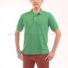 เสื้อโปโล สีเขียวใบไม้ TK Premium แขนสั้น ทรงตรง Size XL