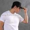 4XL เสื้อยืด สีขาว คอกลม แขนสั้น Size 4XL