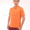 เสื้อโปโล สีส้ม TK Premium แขนสั้น ทรงตรง Size XL