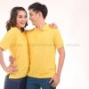 เสื้อโปโล สีเหลือง TK Premium แขนสั้น ทรงตรง Size 4XL