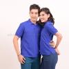 เสื้อโปโล สีน้ำเงิน TK Premium แขนสั้น ทรงตรง Size 3XL