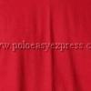 เสื้อยืดเด็ก สีเลือดหมู คอวี แขนสั้น Size XL
