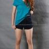 เสื้อยืด สีเขียวหยก คอวี แขนสั้น Size XL สำเนา