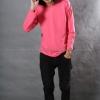 เสื้อยืด สีชมพู Sweety คอกลม แขนยาว Size 2XL