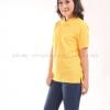 เสื้อโปโล สีเหลือง TK Premium แขนสั้น ทรงเว้า (หญิง) Size XL