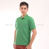 เสื้อโปโล สีเขียวใบไม้ TK Premium แขนสั้น ทรงตรง Size L