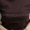 เสื้อยืดเด็ก สีน้ำตาล คอกลม แขนสั้น Size 2XL