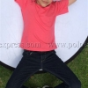 เสื้อยืดเด็ก สีชมพู Sweety คอกลม แขนสั้น Size M