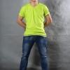 3XL เสื้อยืด สีเขียวมะนาว คอวี แขนสั้น Size 3XL สำเนา