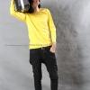 เสื้อยืด สีเหลือง คอกลม แขนยาว Size 2XL สำเนา
