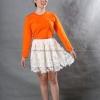 เสื้อยืด สีส้ม คอกลม แขนยาว Size L สำเนา