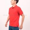 เสื้อโปโล สีแดง TK Premium แขนสั้น ทรงตรง Size XL