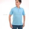 เสื้อโปโล สีฟ้าอ่อน TK Premium แขนสั้น ทรงตรง Size XL
