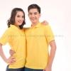 เสื้อโปโล สีเหลือง TK Premium แขนสั้น ทรงตรง Size 2XL