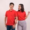 เสื้อโปโล สีแดง TK Premium แขนสั้น ทรงตรง Size 2XL