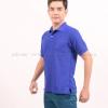 เสื้อโปโล สีน้ำเงิน TK Premium แขนสั้น ทรงตรง Size 2XL