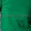 เสื้อยืดเด็ก สีเขียวใบไม้ คอกลม แขนสั้น Size L