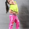 เสื้อยืดเด็ก สีเขียวมะนาว คอกลม แขนสั้น Size M