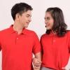 เสื้อโปโล สีแดง TK Premium แขนสั้น ทรงตรง Size 3XL